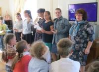 Занятие накануне празднования дня славянской письменности и культуры